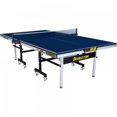 Official movable table tennis table with wheels